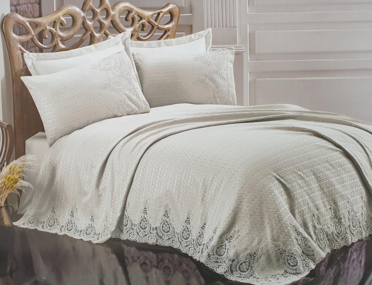 Жаккардовые покрывало на кровать Gardine's Yekta