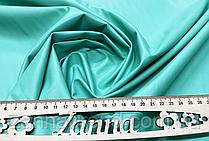 Ткань экокожа (Искусственная кожа) бирюзово-салатовый цвет