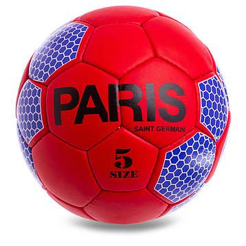 Мяч для футбола №5 Гриппи 5сл. PARIS SAINT-GERMAIN FB-0592, фото 2