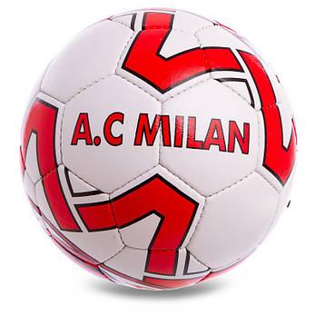 Мяч футбольный спортивный №5 AC MILAN FB-0598, фото 2