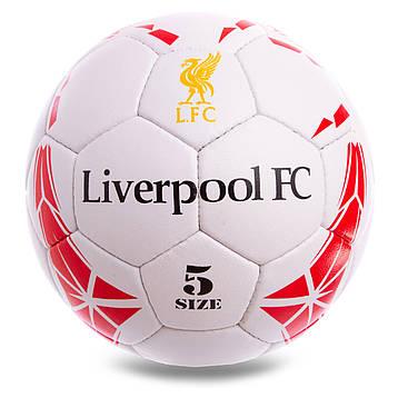 М'яч футбольний №5 Гриппи 5сл. LIVERPOOL FB-0615, фото 2