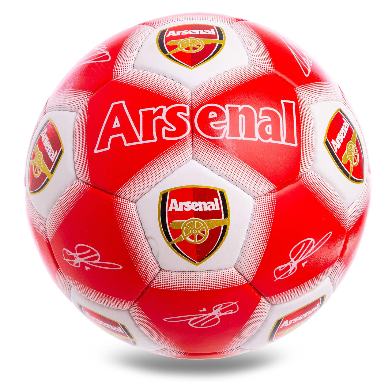 Футбольный мяч №5 Гриппи 5сл. ARSENAL FB-0610
