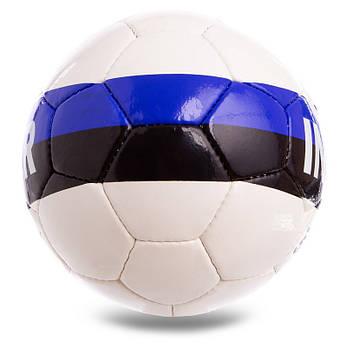 Мяч для футбола INTER №5 Гриппи сшит вручную 5сл. FB-2134, фото 2