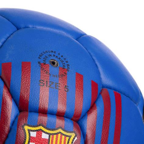 М'яч футбольний №5 Гриппи 5сл. BARCELONA FB-0580, фото 2