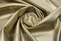 Ткань экокожа (Искусственная кожа) золотой цвет