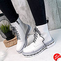 Жіночі білі черевики AESD р36-40 (код 4500-00), фото 1
