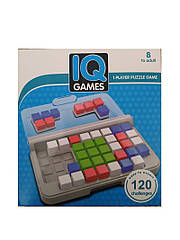 Игра головоломка IQ-Games, Квадраты, 120 испытаний