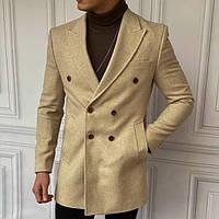 Качественное демисезонное мужское пальто Турция (два цвета)