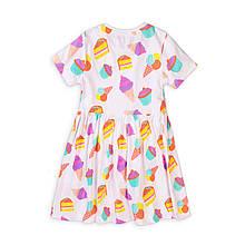 Детское летнее платье хлопок Minoti 98/128 см