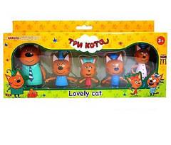 Игровой набор Три кота, 5 фигурок