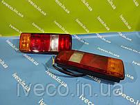 Фонарь задний плоский с кабелем 5-ти секционный левый правый MAN MB Scania  81252286019, 0025446903, 0205L