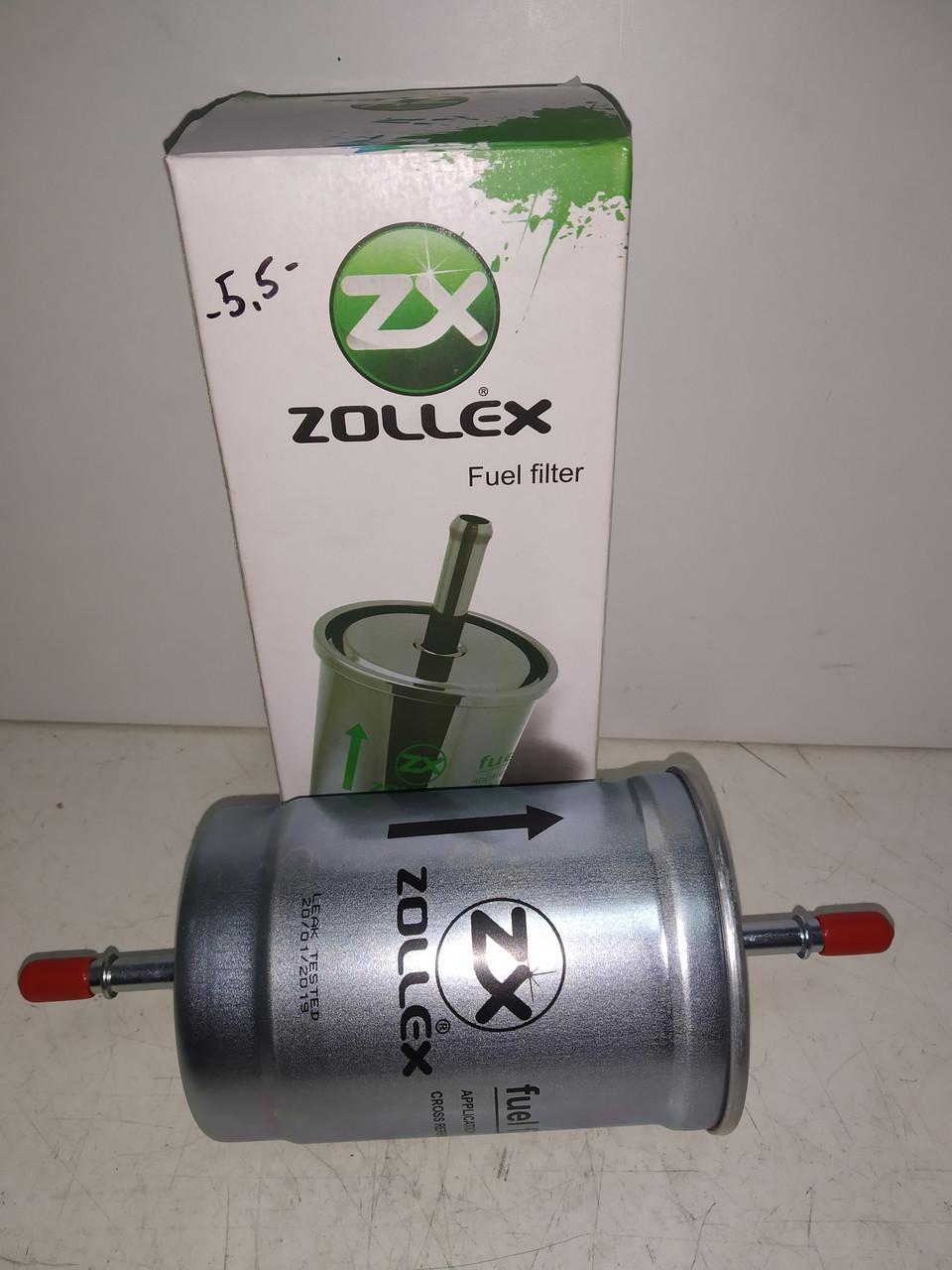 Фильтр топливный инжектор Волга,Газель (под защелку) Zollex