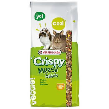 Корм Versele-Laga Crispy Muesli Rabbits ВЕРСЕЛЕ-ЛАГА КРИСПИ МЮСЛИ КРОЛИК для кроликов, 20 кг