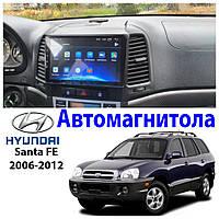 Магнитола Hyundai SantaFe 2006-2012 Звуковая автомагнитола (М-ХСф-9)