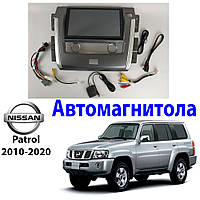 Магнитола Nissan Patrol Y62 2010-2020 Автомагнитола  (М-НП-10)