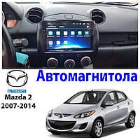 Магнитола Mazda 2 2007-2014 Автомагнитола  (М-Мз2-9)