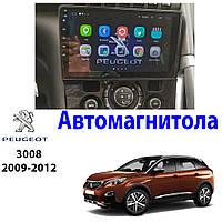 Магнитола Peugeot 3008 2009-2012 Автомагнитола  (М-П3008-9)