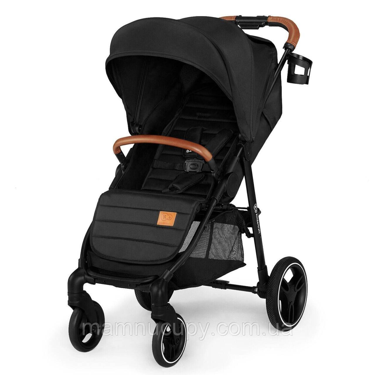 Дитяча прогулянкова коляска Kinderkraft Grande 2020 Black (Киндеркрафт)
