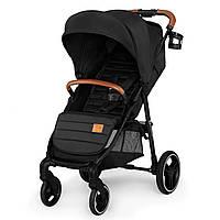 Детская прогулочная коляска Kinderkraft Grande 2020 Black (Киндеркрафт)