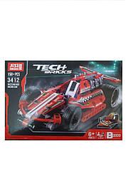 Конструктор Tech Bricks 3412 Гоночная машина