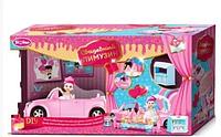 """Кабриолет для куклы """"Свадебный лимузин"""" с куклой и аксессуарами"""