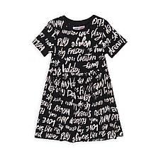 Детское летнее платье хлопок Minoti 98/158 см