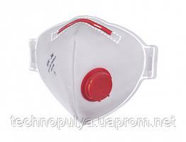 Респіратор БУК FFP3 з клапаном 50 шт Білий (бук50)