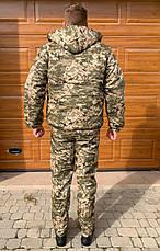 Куртка зимняя ЗСУ пиксель флис, фото 2