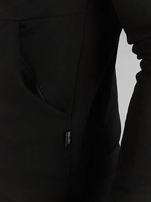 Кофта Чоловіча Intruder 'Космо' чорна спортивна толстовка з капюшоном + Подарунок, фото 3