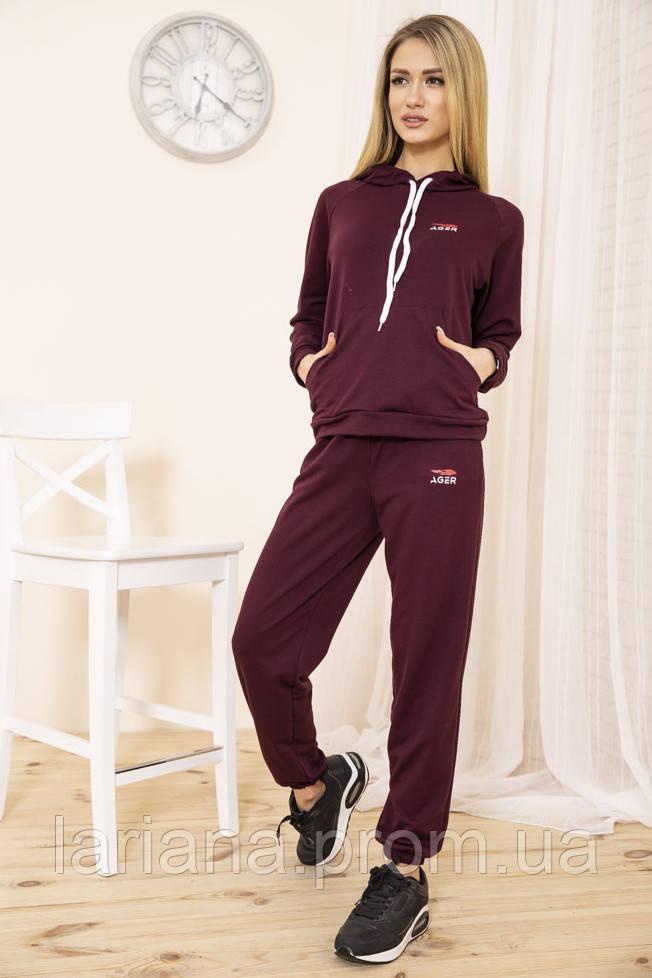 Спорт костюм жін. 129R1467-14 колір Бордовий