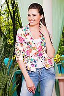 Яркий женский пиджак на лето