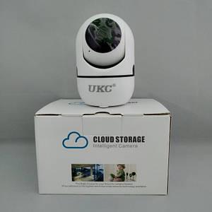 Беспроводная поворотная IP камера WiFi microSD UKC Y13G 1mp с распознаванием лиц