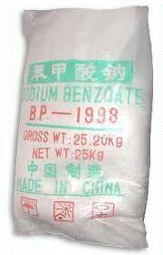 Бензоат натрію порошок (мішок 25кг)