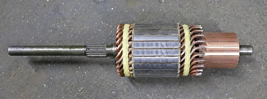 Якір стартера ст-142м мтз 12 вольт