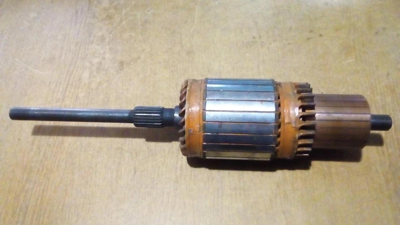 Якорь стартера ст-142н мтз 24 вольт