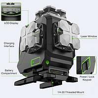 Лазерний рівень 4D Huepar S04CG / пульт / Bluetooth Продажів тільки м Рівне