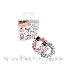 Резинка-браслет для волос invisibobble SPRUNCHIE SLIM Bella Chrome 2 шт