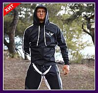 Профессиональный весосгоночный костюм сауна (черный) Украина