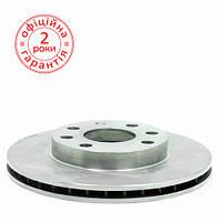 Диск тормозной Lanos Sens R13 передний (вентилируемый) ДК