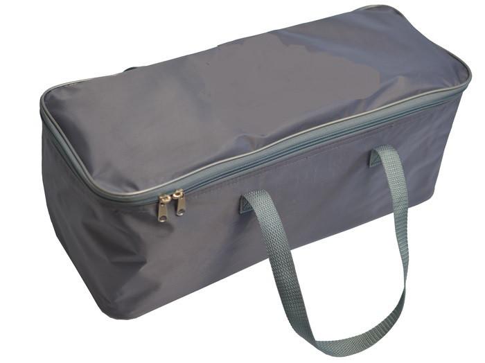 Сумка-органайзер в багажник сіра 1 відділ (2 ручки)