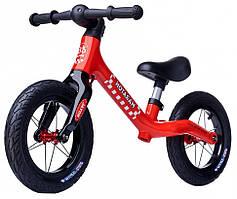 Беговел детский с 12 дюймовыми колёсами Maraton Royal Red (красный)