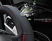 Чохол оплетка Circle Cool на кермо для автомобіля Peugeot c логотипом, фото 4