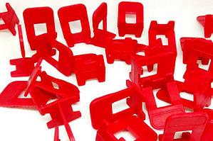 Система выравнивания плитки,Mini основание - красное (250шт.) HTools 16K434