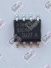 Микросхема Atmel 93C46 EEPROM корпус SO8