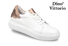 Жіночі білі кеди/кріпери натуральна шкіра Dino Vittorio 40 розмір