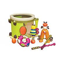 Музыкальная игрушка – ПАРАМ-ПАМ-ПАМ (7 инструментов, в барабане), фото 1