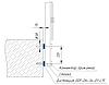 ODF-06-34-02-L15 Дистанция монтажного коннектора для стоек с боковым креплением d38 M14, полированная, фото 2