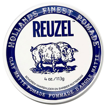 Глина Reuzel Clay Matte Pomade Strong Hold 113г