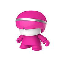 Акуст. система XOOPAR Mini XBOY (7,5 cm,роз.,Bluetooth,USB-каб,подсв., ремешк.), фото 1