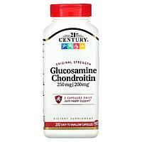 Глюкозамін хондроїтин, 21st Century Health Care, 200 кап.